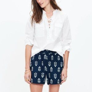 Madewell Womens Drapey Pull-on Floral Shorts S